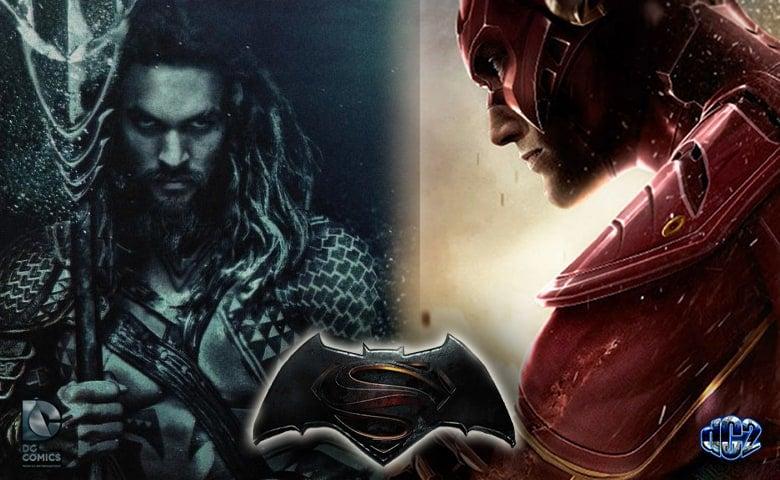 the flash  u0026 aquaman cameos in  u0026 39 batman v superman  dawn of