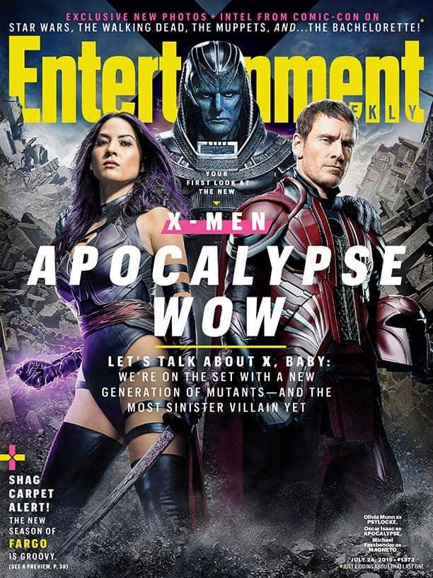 X-Men Apocalypse Psylocke Magneto