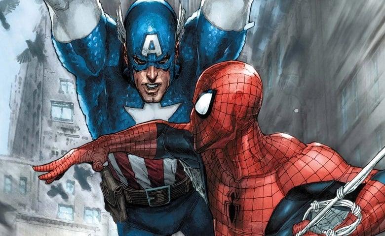 Captain America Civil War Spider-Man Marvel