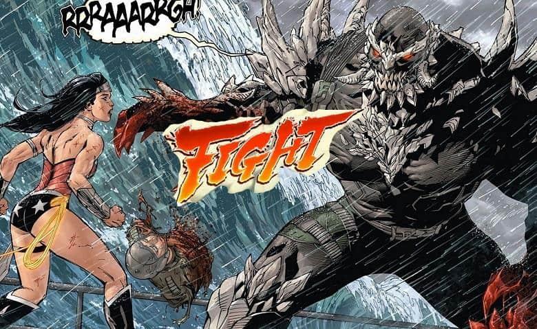 Wonder Woman Doomsday Batman v Superman