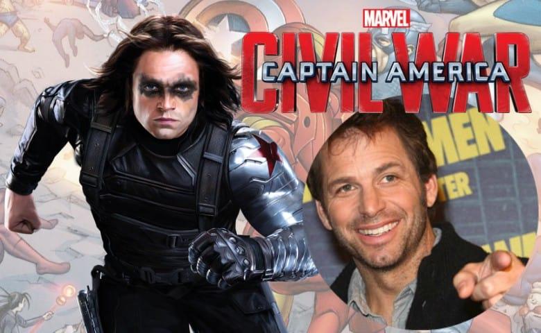 Sebastian Stan Zack Snyder Captain America Civil War