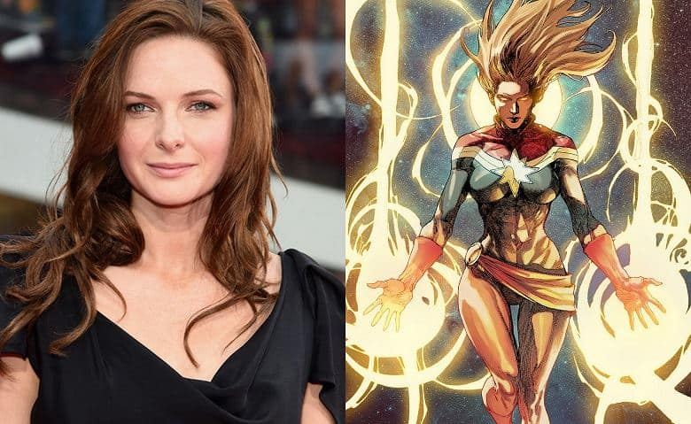 Rebecca Ferguson Captain Marvel