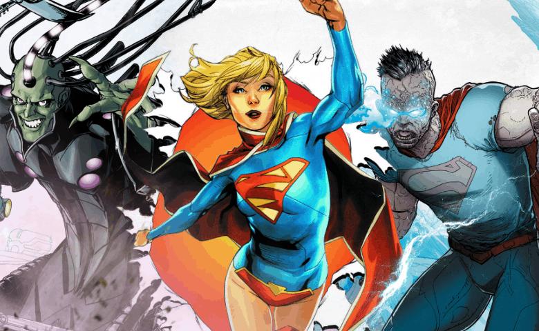 Man of Steel Supergirl Brainiac Bizzaro