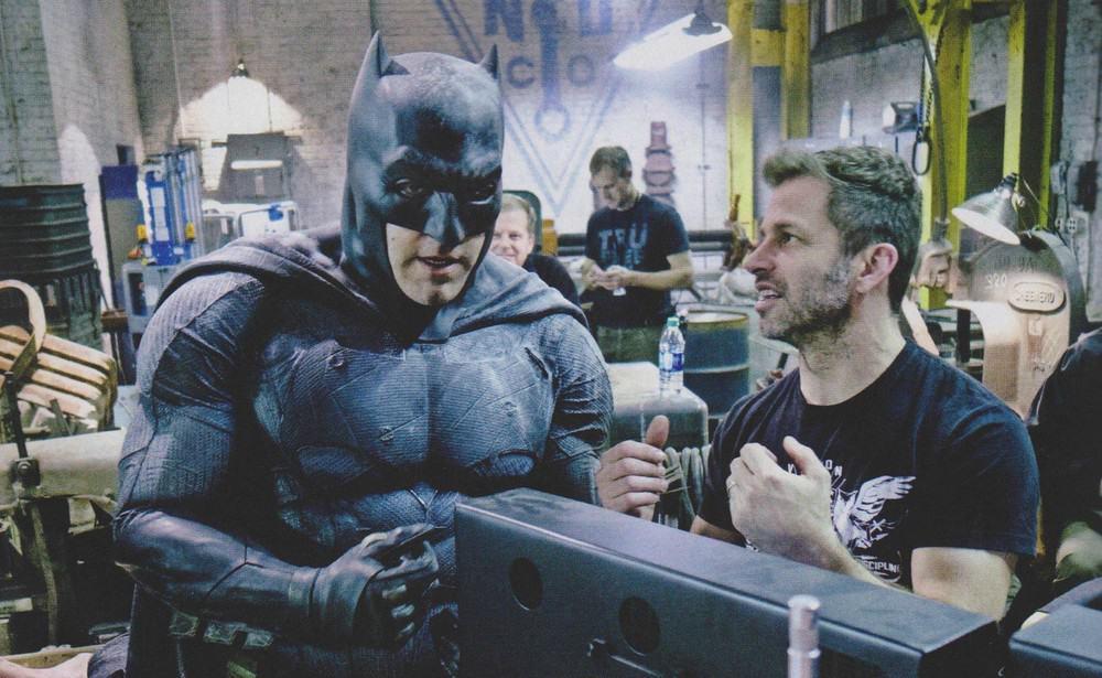 Ben Affleck Zack Snyder Batman v Superman
