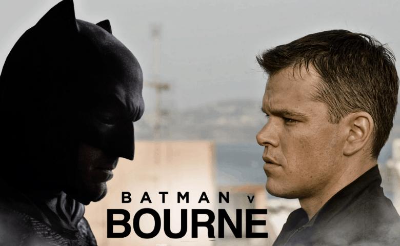 Batman Bourne Matt Damon