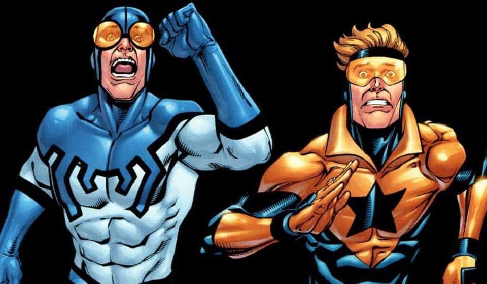 Blue Beetle Booster Gold