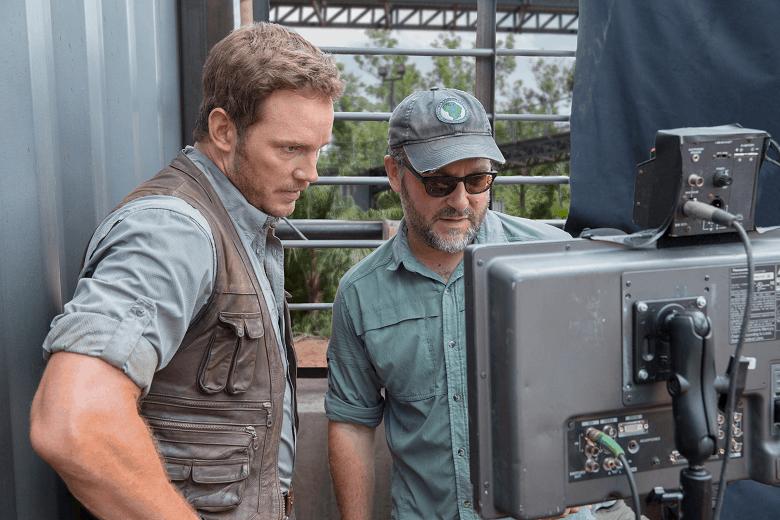 Chris Pratt Colin Trevorrow Jurassic World