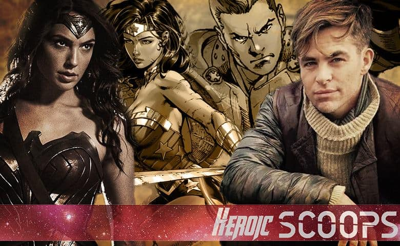 Wonder Woman Steve Trevor Chris Pine