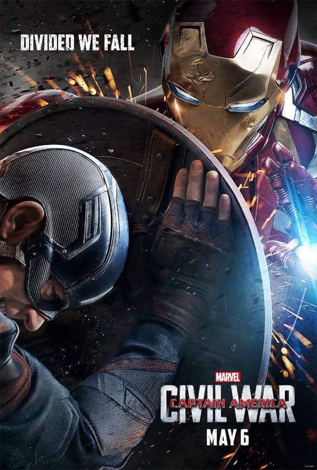 Captain America Iron Man Poster