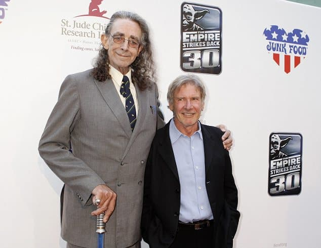 Star Wars The Force Awakens Peter Mayhew And Harrison