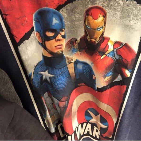 Captain America Civil War New Suits