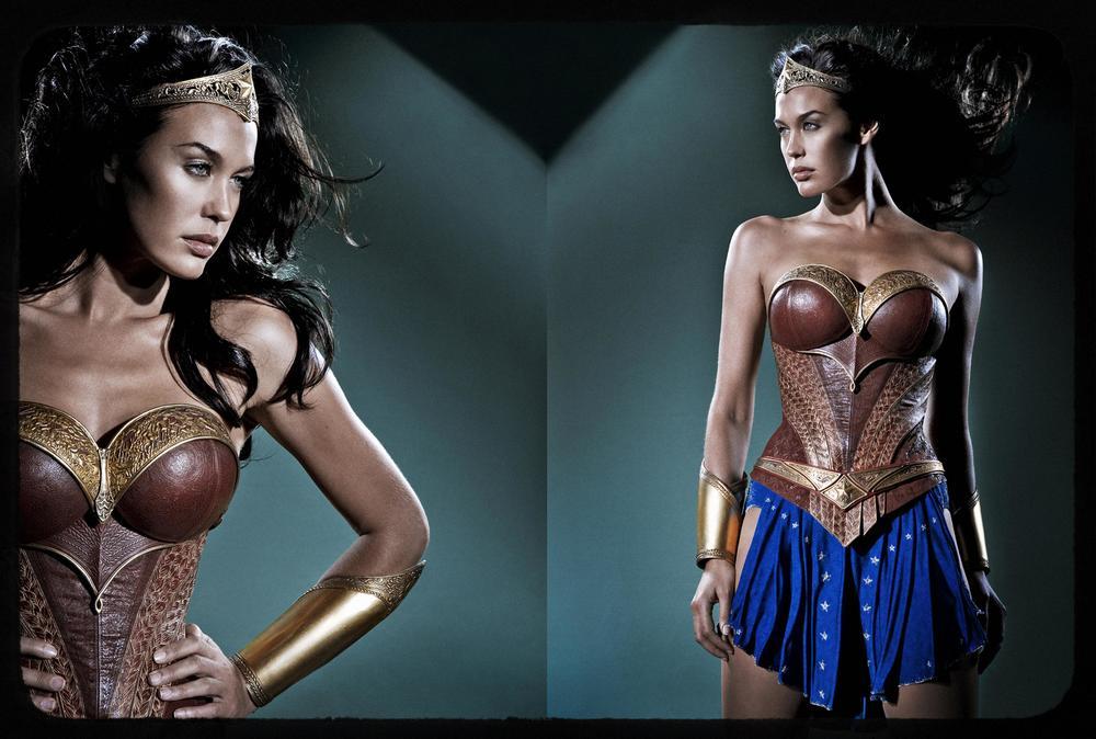 Megan Gale Wonder Woman Justice League Mortal