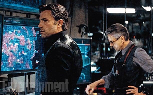 Batman v Superman Dawn of Justice Ben Affleck Jeremy Irons