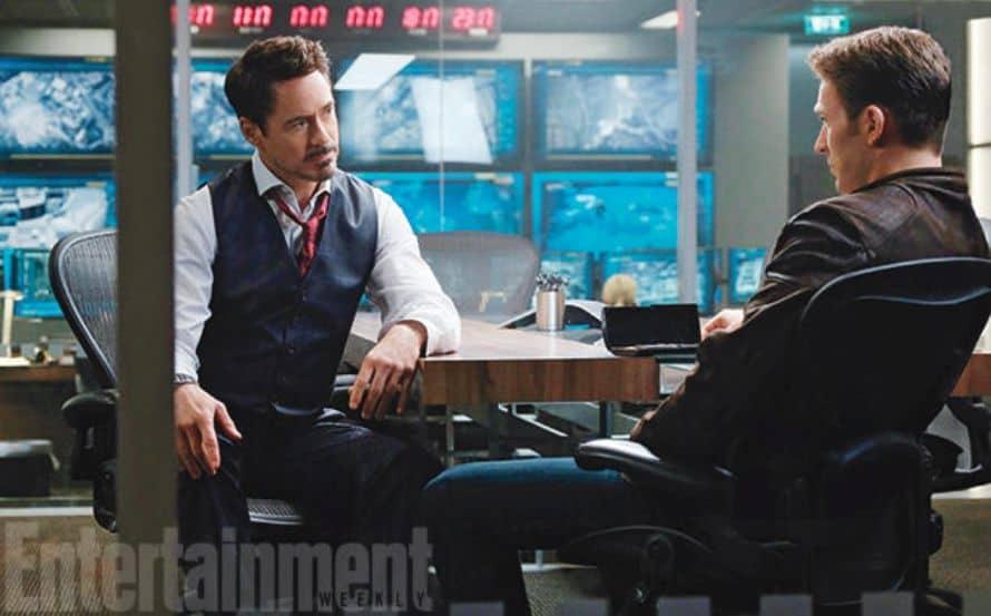 Captain America Civil War Robert Downey Jr. Chris Evans