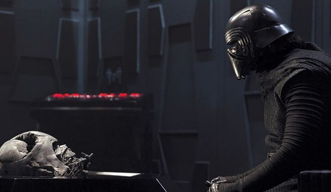 Star Wars The Force Awakens Kylo Ren Darth Vader Helmet