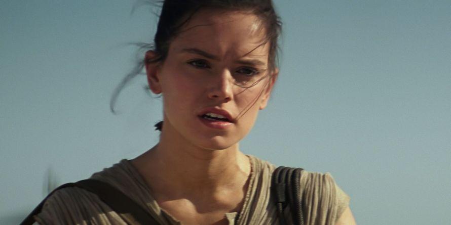 Star Wars The Force Awakens Rey Daisy Ridley