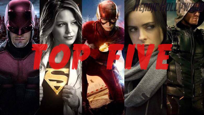 Top 5 Comic Book Shows Of 2015