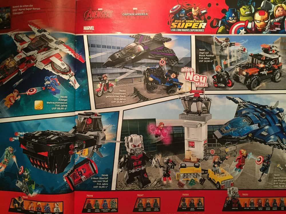 Captain America Civil War Lego Set