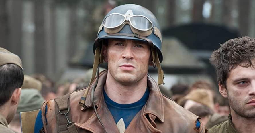 Chris Evans Captain America The First Avenger Marvel Steve Rogers