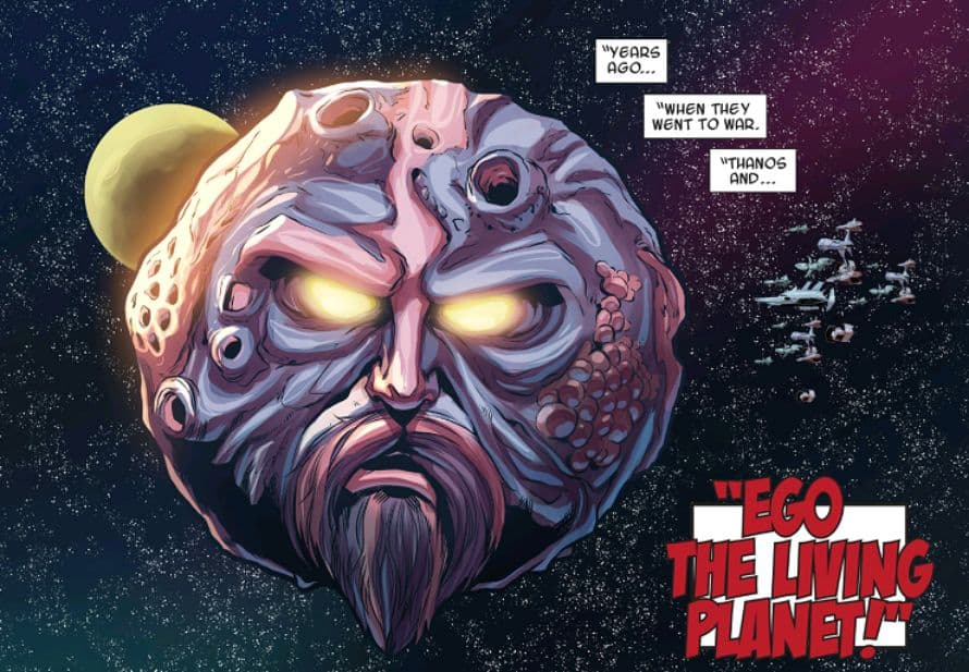 Ego The Living Planet Guardians of the Galaxy