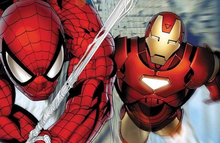 Spider-Man Iron Man Marvel