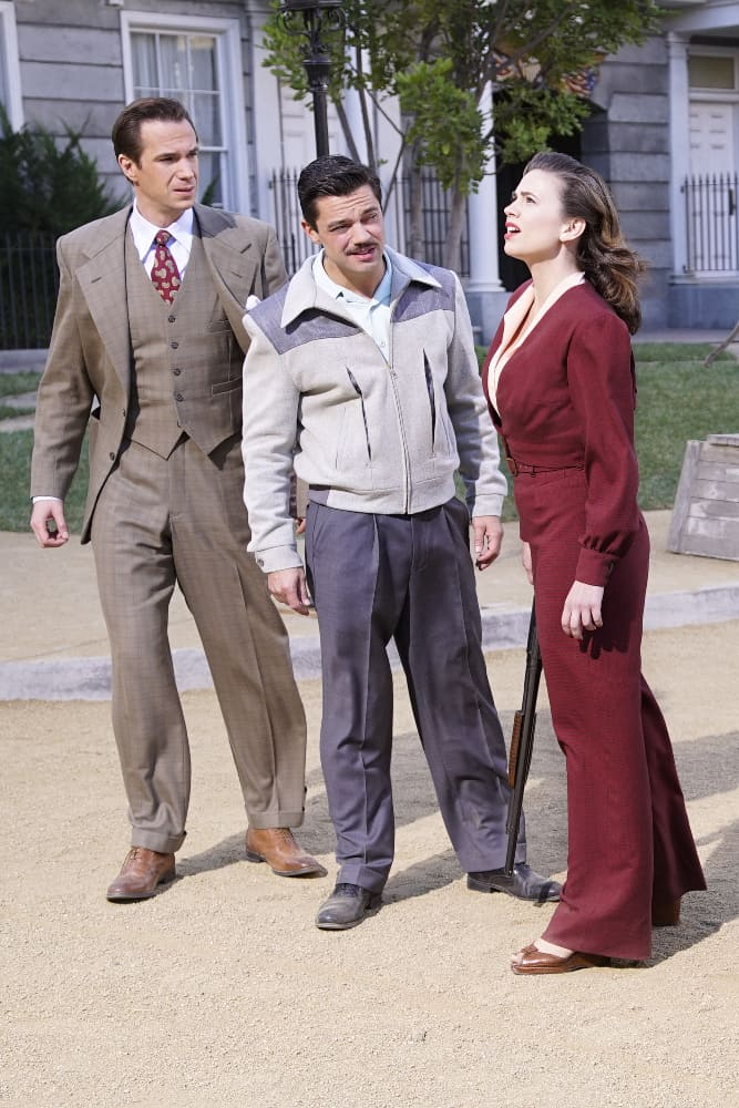 JAMES D'ARCY, DOMINIC COOPER, HAYLEY ATWELL
