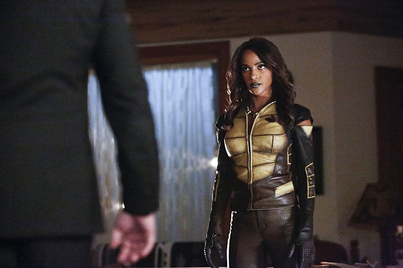 """Arrow -- """"Taken"""" -- Image AR415A_0092b.jpg -- Pictured: Megalyn E.K. as Vixen -- Photo: Bettina Strauss/ The CW -- © 2016 The CW Network, LLC. All Rights Reserved."""