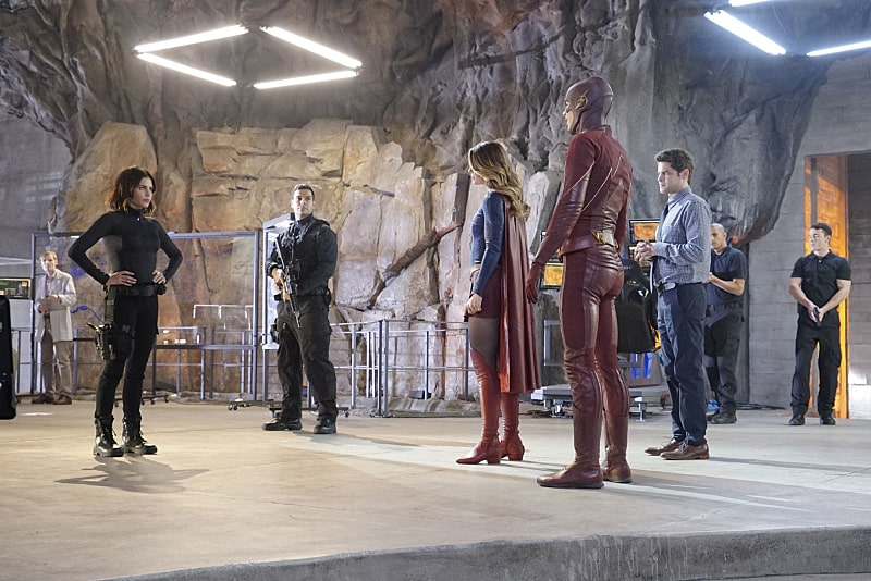 Supergirl and The Flash in 'Worlds Finest'