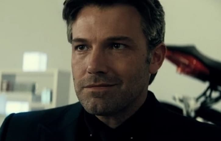 Ben Affleck Batman Smile
