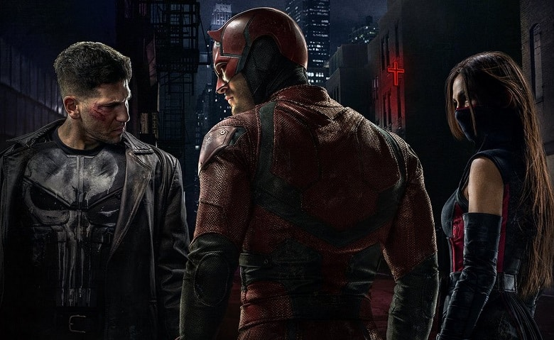 Daredevil and The Punisher banner