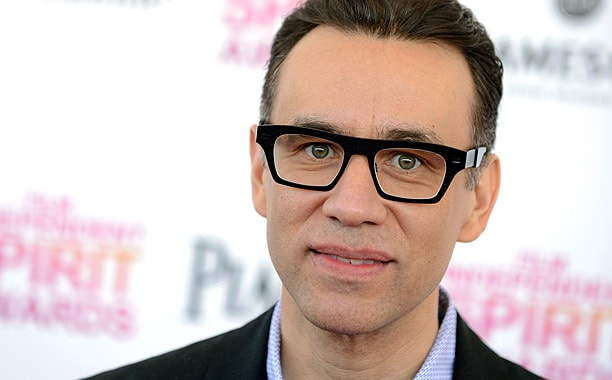 Actor Fred Armisen arrives at the Independent Spirit Awards on Saturday, Feb. 23, 2013, in Santa Monica, Calif. (Photo by Jordan Strauss/Invision/AP)