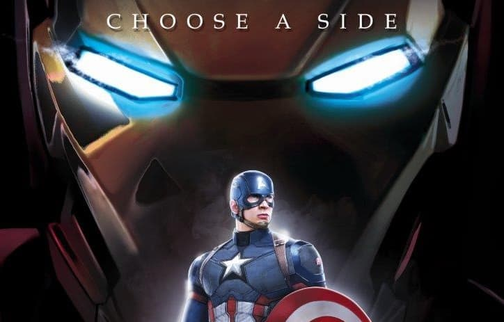MP17240132 Captain America Civil War (Team Cap) MightyPrint