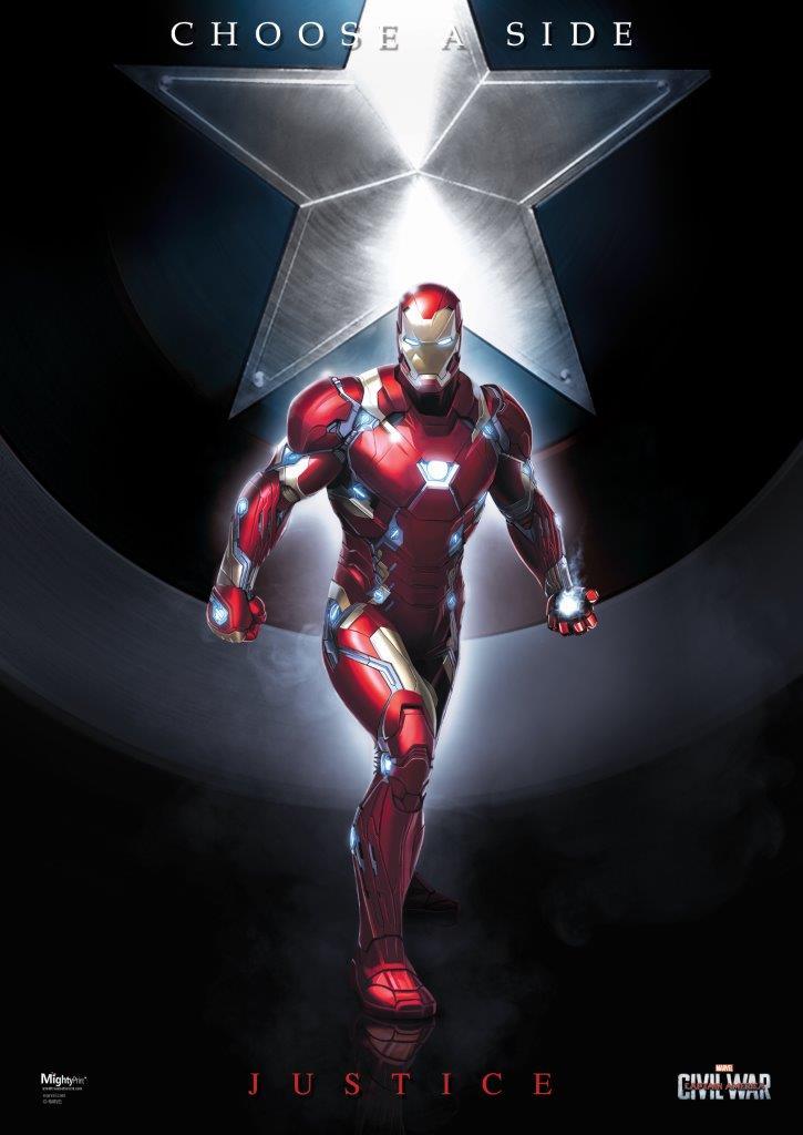 MP17240133 Captain America Civil War (Team Stark) MightyPrint