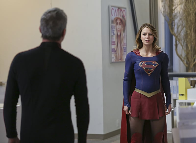 Non and Supergirl in Myriad