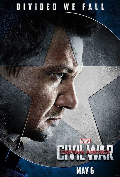 capitan america guerra civil hawkeye