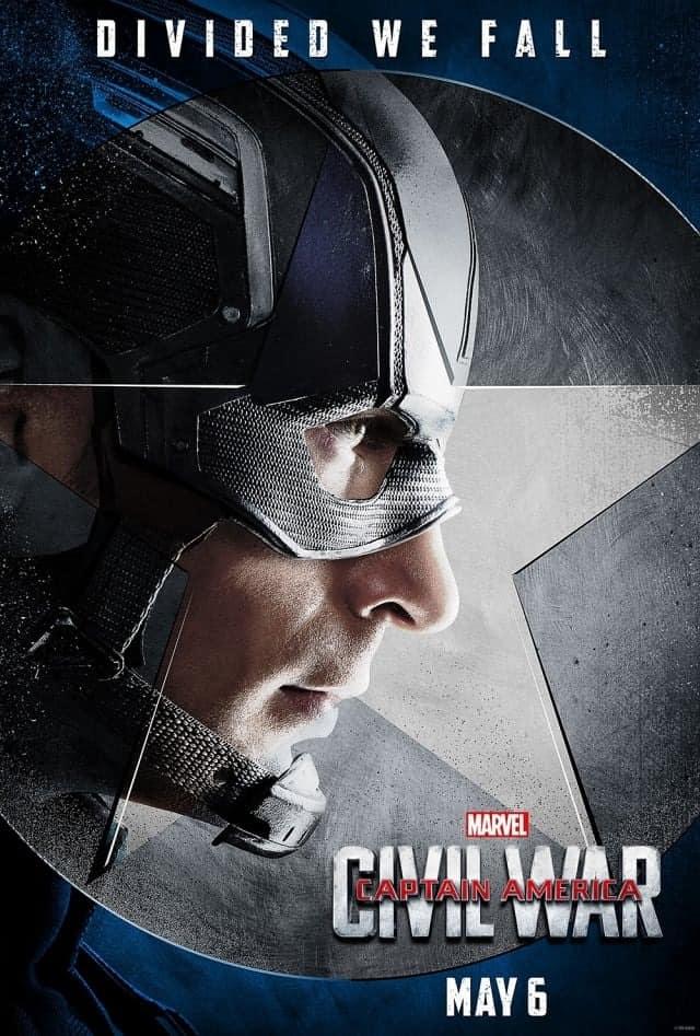 capitan america guerra civil poster