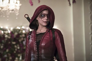 "Arrow -- ""Broken Hearts"" -- Image AR416a_0281b.jpg -- Pictured: Willa Holland as Thea Queen/Speedy -- Photo: Katie Yu/The CW -- © 2016 The CW Network, LLC. All Rights Reserved."
