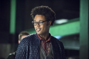 "Arrow -- ""Beacon of Hope"" -- Image AR417a_0126b.jpg -- Pictured: Echo Kellum as Curtis Holt -- Photo: Dean Buscher/The CW -- © 2016 The CW Network, LLC. All Rights Reserved."