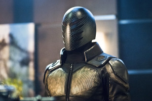 "Arrow -- ""Beacon of Hope"" -- Image AR417b_0291b.jpg -- Pictured: Exoskeleton -- Photo: Dean Buscher/The CW -- © 2016 The CW Network, LLC. All Rights Reserved."