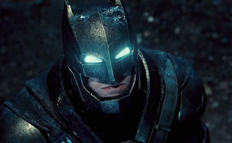 Zack snyder batman v superman blurry image banner