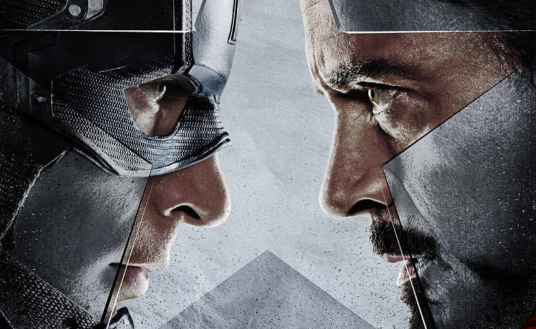 Captain America: Civil War Promotional Art banner