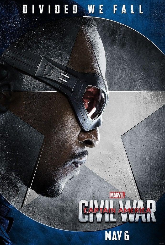 capitan america guerra civil falcon