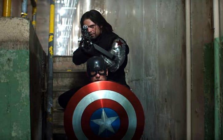 Captain America CW Steve Bucky