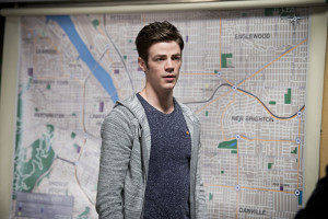 "The Flash -- ""Flash Back"" -- Image: FLA217a_0086b.jpg -- Pictured: Grant Gustin as Barry Allen -- Photo: Diyah Pera/The CW -- © 2016 The CW Network, LLC. All rights reserved."