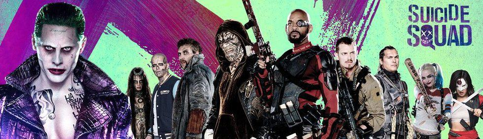 Harley Quinn, Rick Flag, Deadshot, Killer Croc, Captain Boomerang, Enchantress, Slipknot, Katana, El Diablo and The Joker