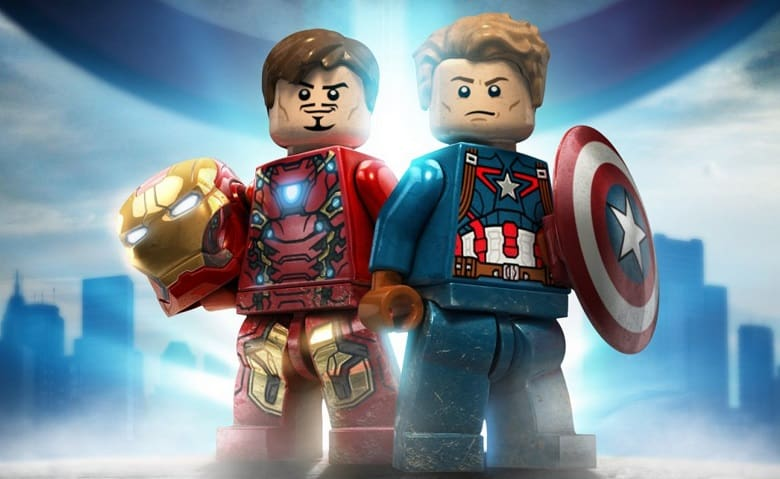 lego captain america civil war banner