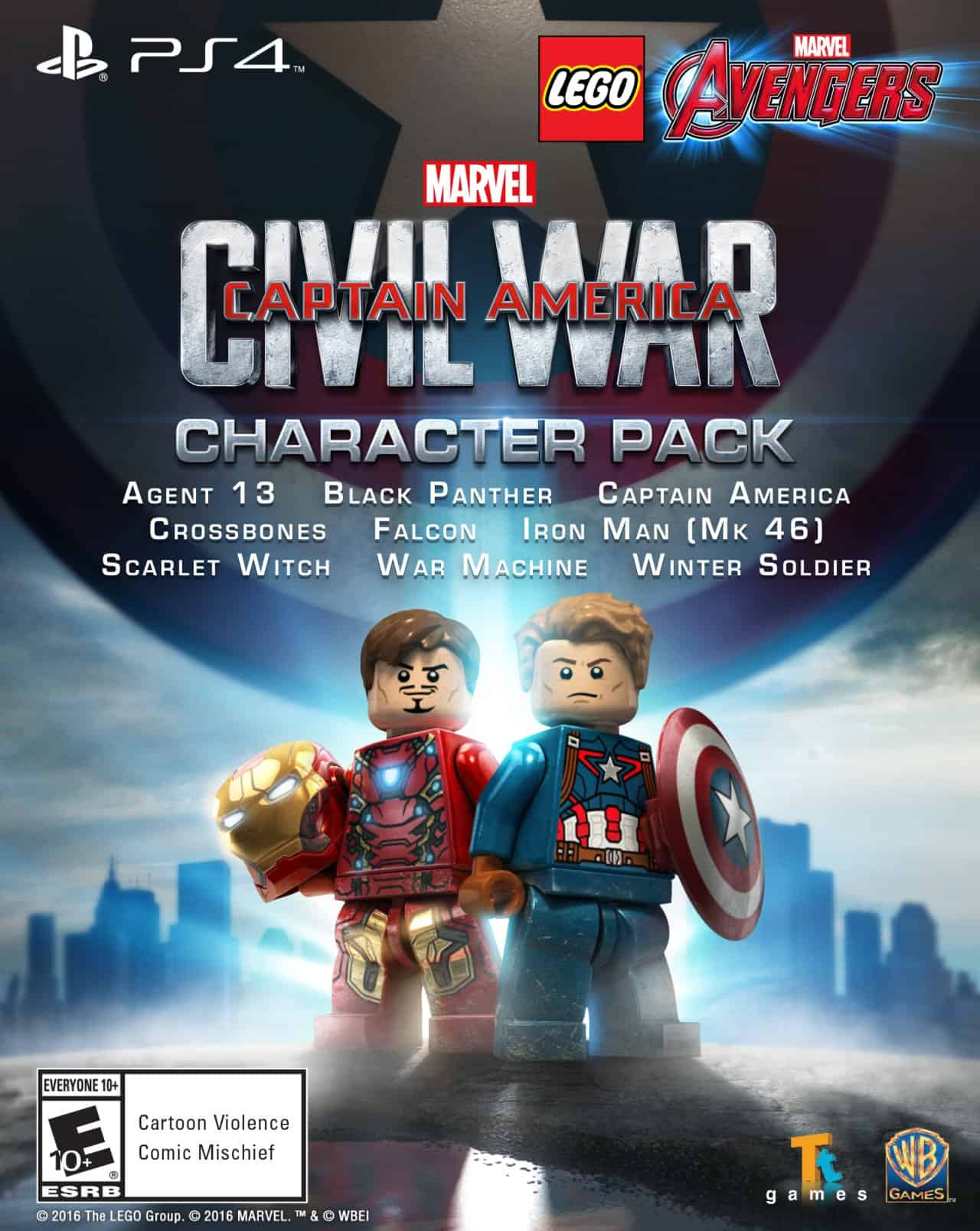 lego captain america civil war poster