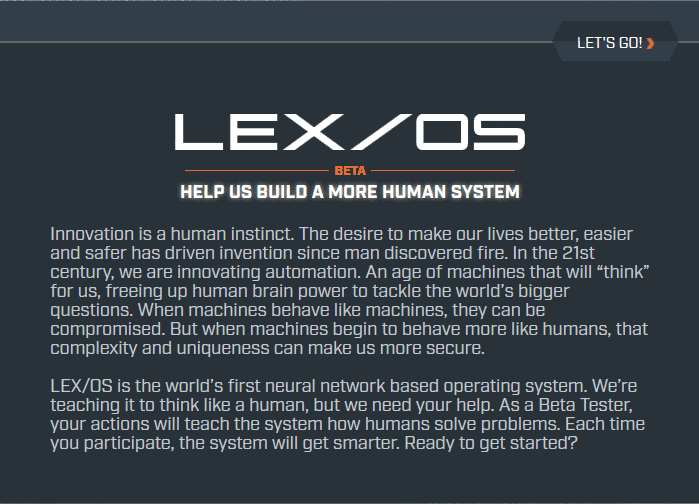 lexcorp message
