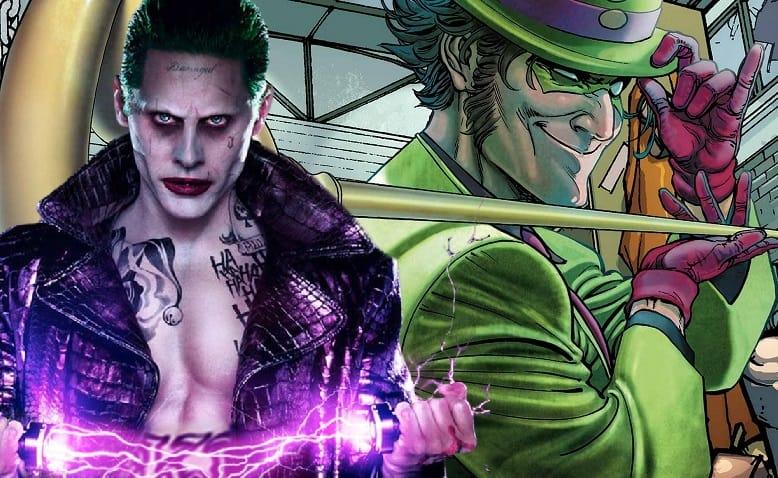 the joker and the riddler banner