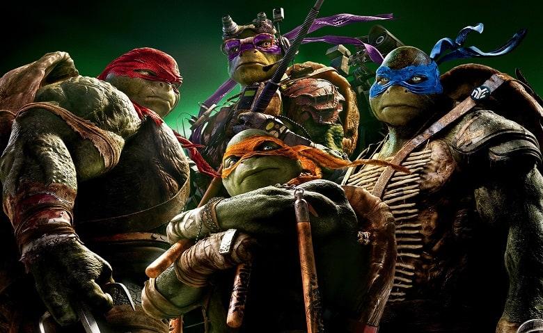 Teenage mutant ninja turtles banner